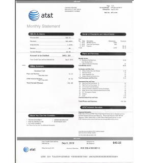 Phone Internet, AT&T