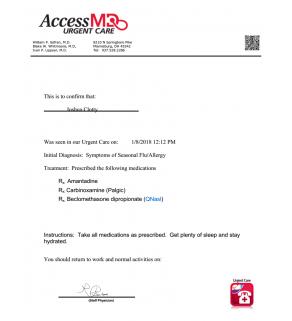 Urgent Care, Access MD