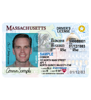 Massachussetts Driver's License, Novelty