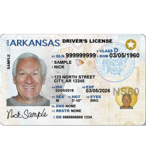 Arkansas Driver's License, Novelty