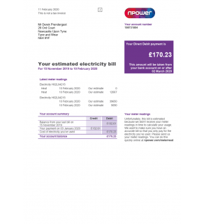 Npower, Utility (UK, EU)