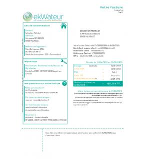 Water, ekWateur (France)