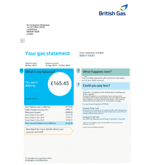 British Gas, Utility (UK, EU)