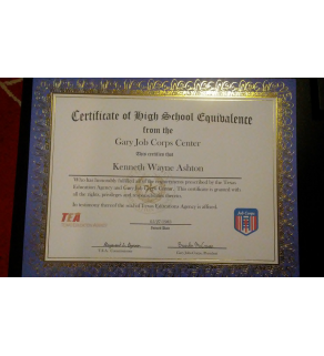 GED,  High School Diploma Fake