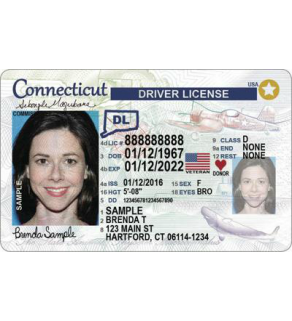 Connecticut Driver's License, Novelty