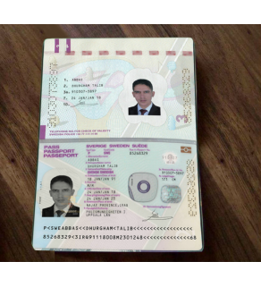 Foreign Passport, Front Snapshot Only